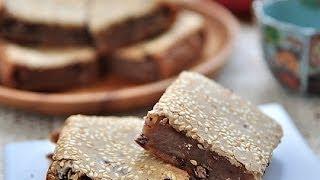 紅豆烤年糕。bake Chinese Red Bean Rice Cake