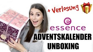 ESSENCE ADVENTSKALENDER UNBOXING + Verlosung l Sara Desideria