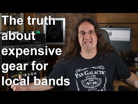 The Truth about Expensive Gear for local bands  SpectreSoundStudios