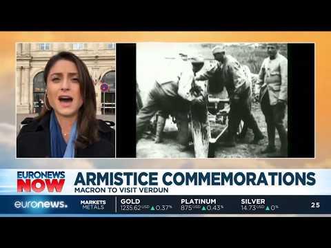 #EuronewsNow | Armistice Commemorations: Macron to visit Verdun today