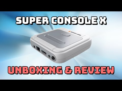 Super Console X: Surprisingly Good Emulation Box!