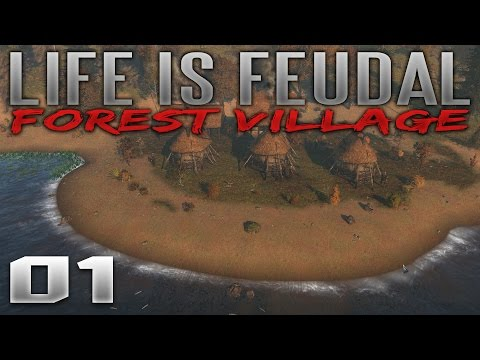 Life Is Feudal: Forest Village Gameplay - Ep 1 - Fish Market