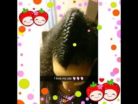 Habesha style hair