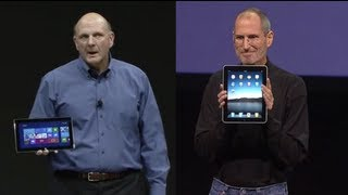 Surface vs. iPad: Microsoft