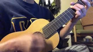 ギタレレで弾いてみました。
