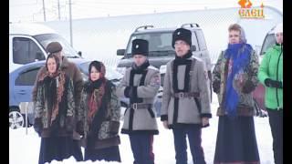 9 декабря на Казинской горе освятили часовню, входящую в мемориальный комплекс «Знамя победы»(, 2016-12-12T15:10:22.000Z)