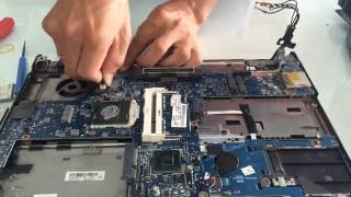 How to disassemble an HP Elitbook 8460P 8560, 8760, 8570, 8770, PB 6465, 6475