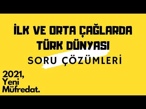 İlk Ve Orta Çağlarda Türk Dünyası (1) - Soru Çözümü TYT - AYT Tarih 2020