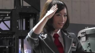 TGS2016 WARGAMING.NETブース① 美脚コンパニオン 東京ゲームショウ2016