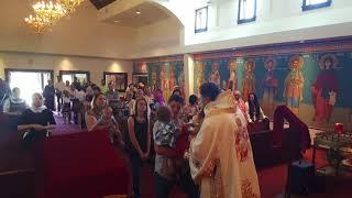 IPS Mitropolit NICOLAE vizita la Misiunea Sf. Calinic de la Cernica, Fredericksburg VA