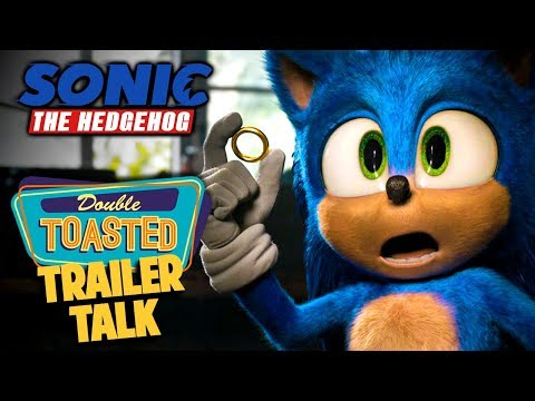 SONIC THE HEDGEHOG MOVIE TRAILER 2 REACTION | THEY FIXED HIM! - Double Toasted