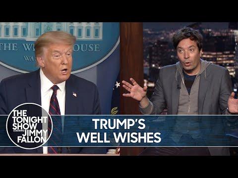 Trump Sends Well-Wishes to Epstein Associate Ghislaine Maxwell | TheTonightShow