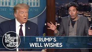 Trump Sends Well-Wishes to Epstein Associate Ghislaine Maxwell | The Tonight Show