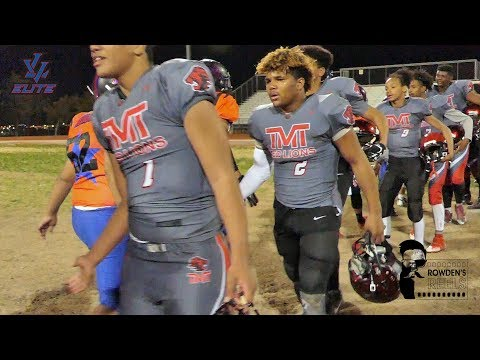 Youth Football - 14U TMT Red Lions(NV) Vs LV Elite(NV) - 3/28/18