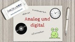 Analog und digital