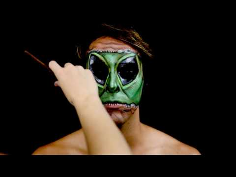 Alien by Jody Steel - A Makeup Timelapse