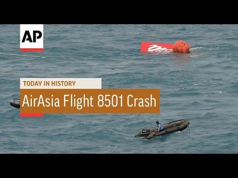 AirAsia Flight 8501 Crash - 2014 | Today in History | 28 Dec 16