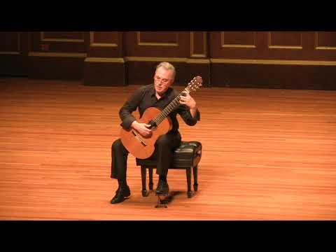 Eduardo Fernández Plays Sonata No. 1 By Carlos Guastavino