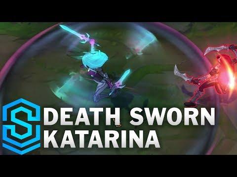 Death Sworn Katarina Skin Spotlight - Pre-Release - League of Legends