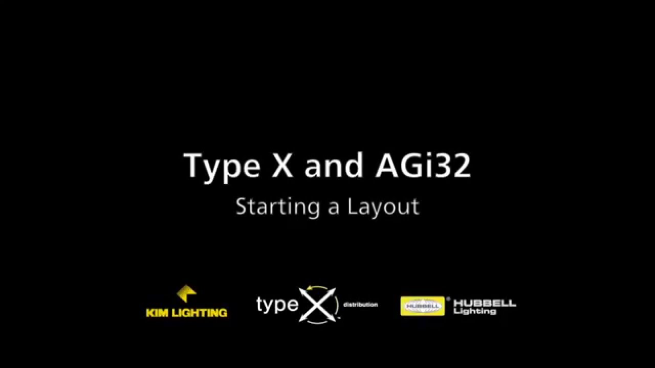 02 Starting a Layout — Type X / AGi32 Tutorial