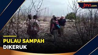 Sampah di Muara Sungai Cisadane Dikeruk dan Diekspor - JPNN.com