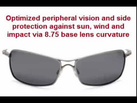 60f5125f55 Buy Oakley Crosshair 2.0 Polarized Metal Sunglasses - YouTube