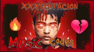 24 Most Popular XXXTENTACION Music Codes! (ROBLOX)