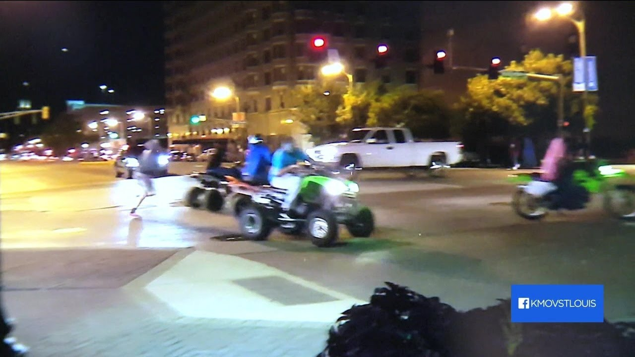 SAINT LOUIS, MISSOURI Police to enforce law banning ATV driving