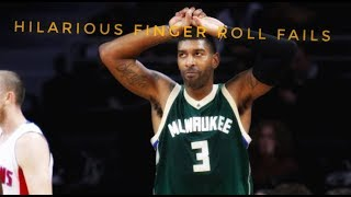 NBA Hilarious Finger Roll Fails