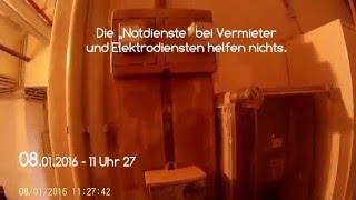 Mieternotstand in Essen-Frohnhausen - Beweissicherungsvideo