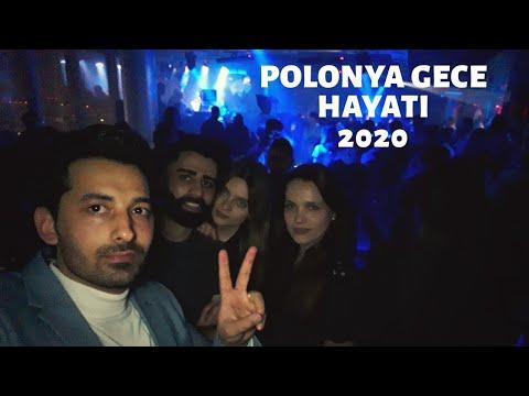POLONYA GECE HAYATI 2020 YILININ İLK VİDEOSU
