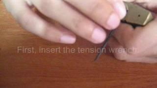 Repeat youtube video สอนวิธีการปลดล็อคแม่กุญแจ