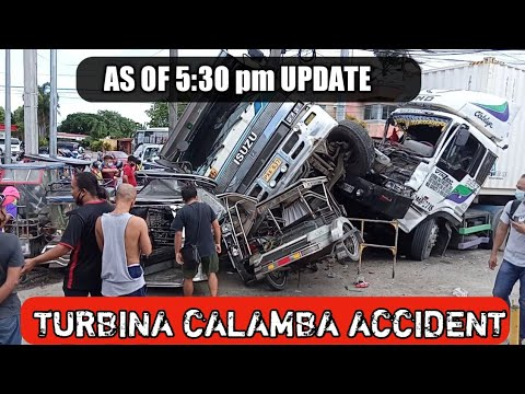 Accident Status Update Turbina Calamba Accident | Pinoy tv