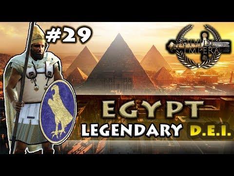 CALMNESS BEFORE THE STORM! - Divide Et Impera - TW: Rome II - Egypt Legendary Campaign #29