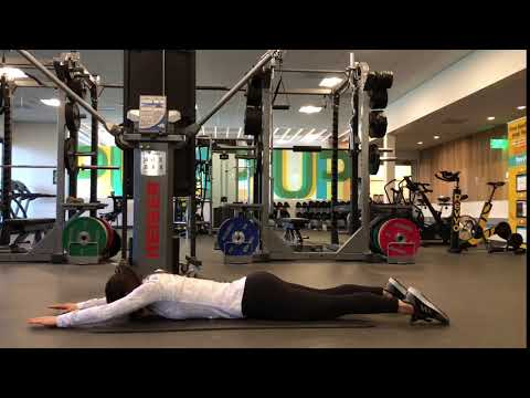 Superman with Lat Pulldown