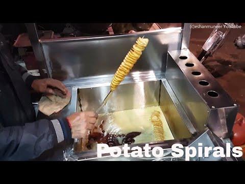 Tornado Chips| Khalifa Spiral Potatoes
