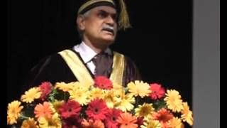 Prof  R K  Khandal   Convocation - 2014