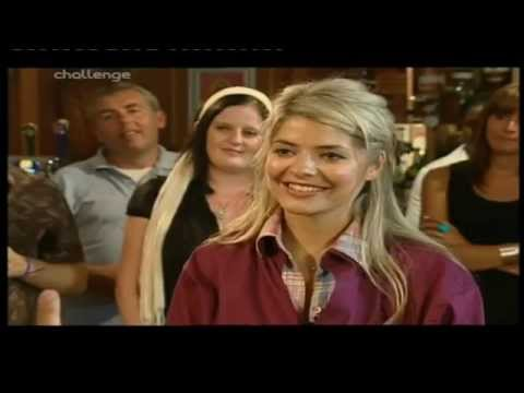Holly Willoughby Vs James Hewitt - Showbiz Darts - Match 2