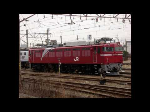 Japanese National Railways & Japan Railways Electric Locomotive【HD720P】
