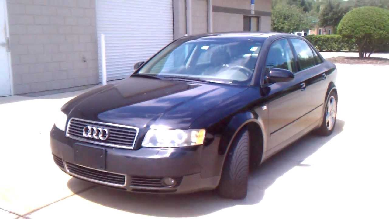 2002 audi a4 1 8t luxury interior youtube. Black Bedroom Furniture Sets. Home Design Ideas