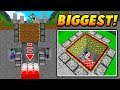 WORLD'S BIGGEST MINECRAFT TRAP! - Minecraft SKYWARS TROLLING (NO WAY!)