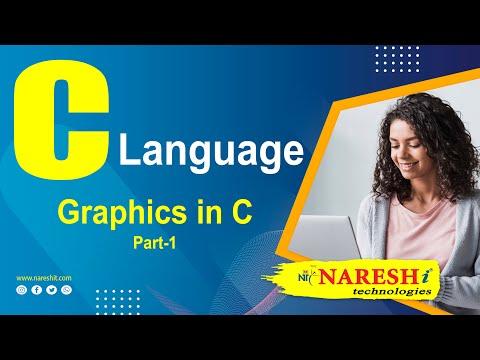 Graphics In C Language Part 1   C Language Tutorial