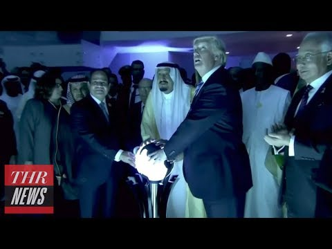 Thumbnail: Trump's First International Trip Mocked by Late-Night Hosts | THR News