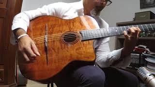 Pietro Lazazzara plays Europa C. Santana - Stochelo Rosenberg version. Marco La Manna guitar.