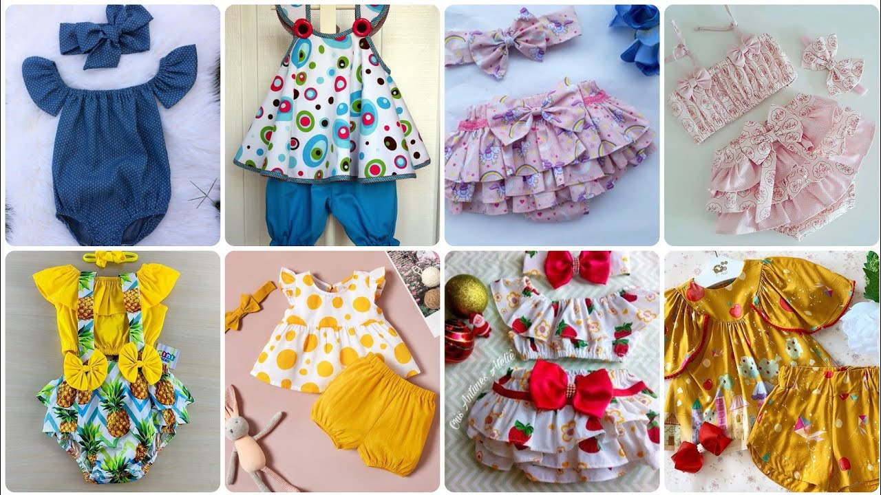 Best Baby Frock Jumpsuits Designs