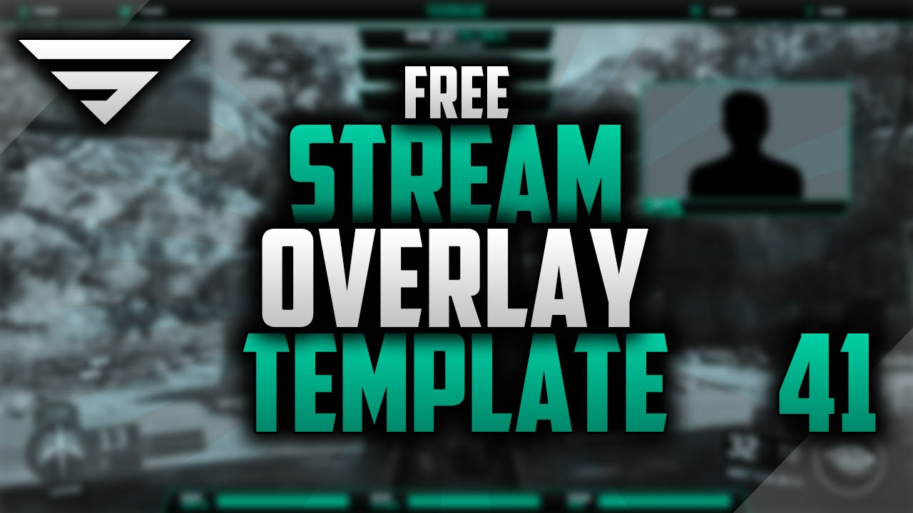 free twitch overlay template speedart 41 free download photoshop cc youtube