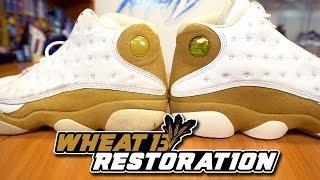 Restorations With Vick - Air Jordan Wheat 13