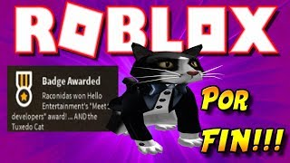 Get LIVE THE BLOXYS 2019 🌟 EVENT CAT