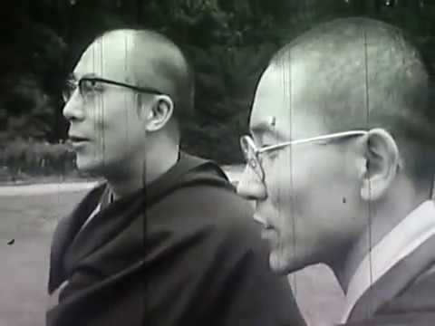 14th Dalai Lama in Nederland 1973 interview ( Rare )
