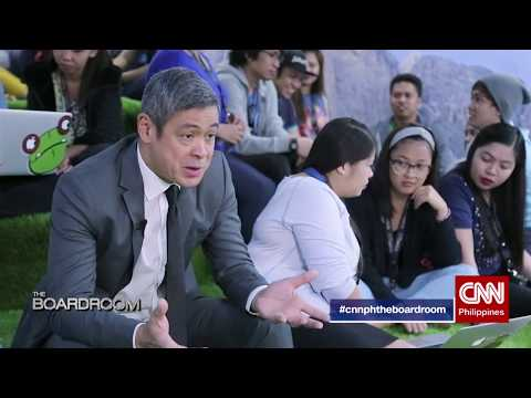 CNN Philippines' The Boardroom with Robert Hayes